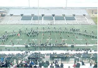 Forney ISD Marching Bands Excel at Area C Marching Contest, Advance to UIL State Marching Band Competition