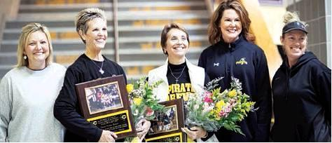 Crandall Coaches Honored for Fifty Years of Combined Service