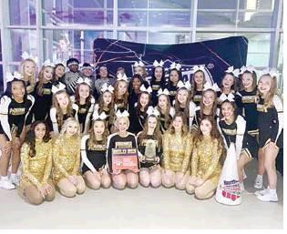 Forney ISD Cheer Squads Compete at NCA Competition