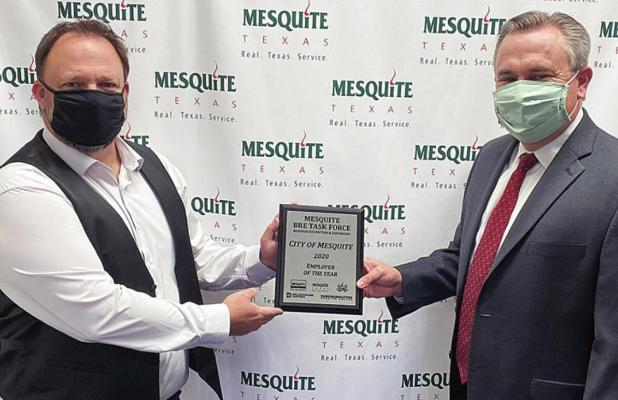 Mesquite Earns Employer of the Year Award