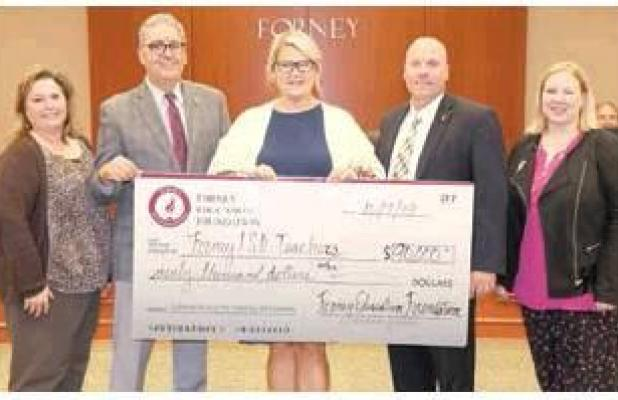 Forney Education Foundation to Award $90,000 in Teacher Grants