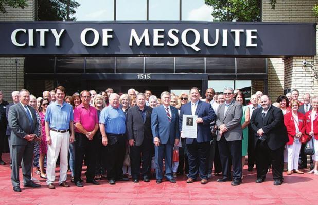 Mesquite Dedicates Municipal Center in Honor of Former Mayor George Venner