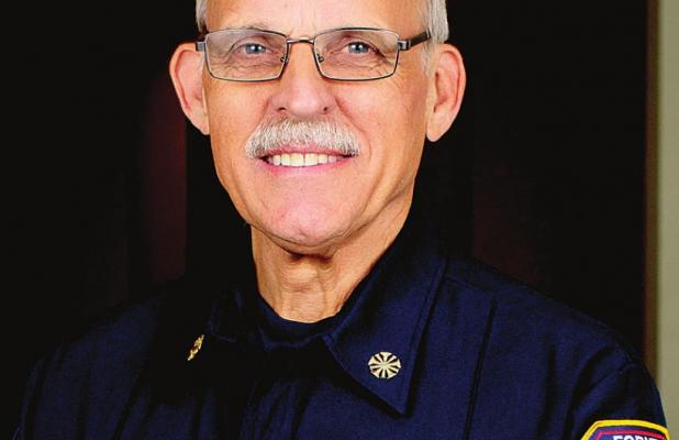 Chief Townsend Retires After 44 Years