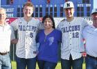 "North Baseball Honors ""The Five"""